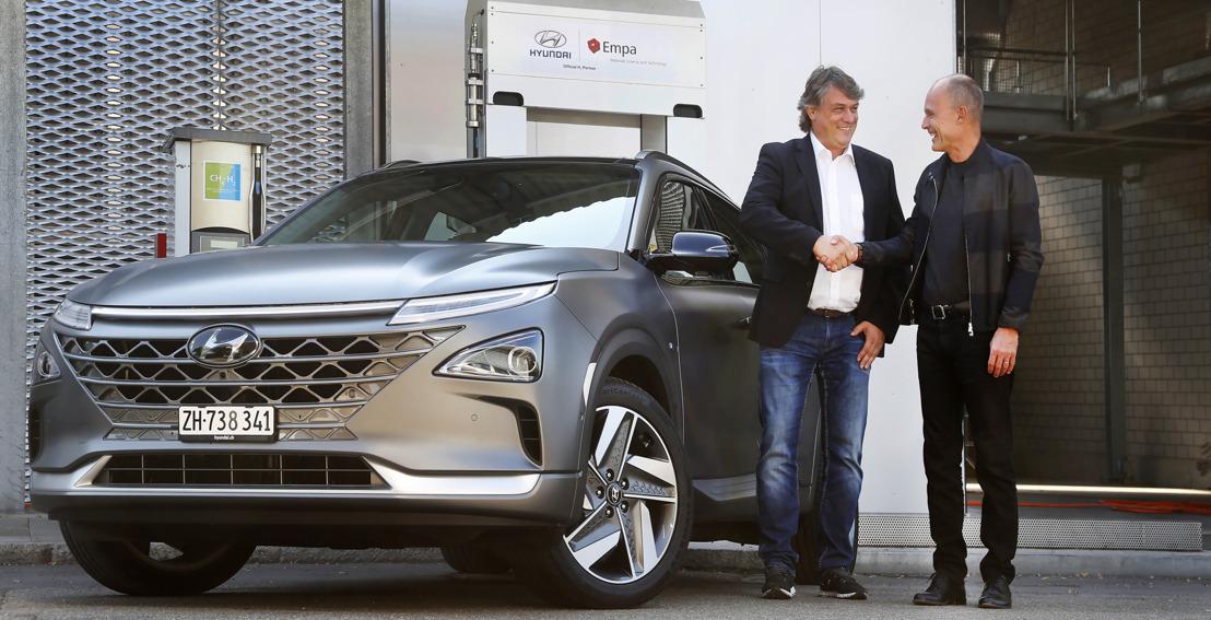 Erste All-New Hyundai NEXO in der Schweiz eingetroffen: Das nächste Kapitel der Wasserstoff-Elektromobilität ist eröffnet.