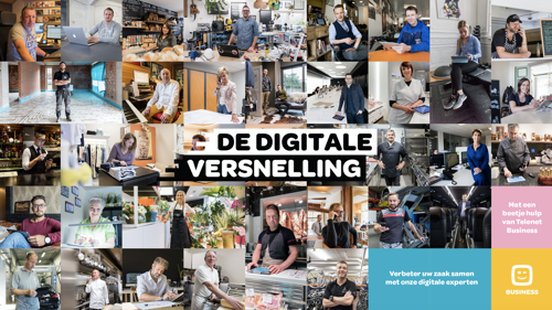 Telenet Business in de Content Marketing Hall Of Fame dankzij De Digitale Versnelling