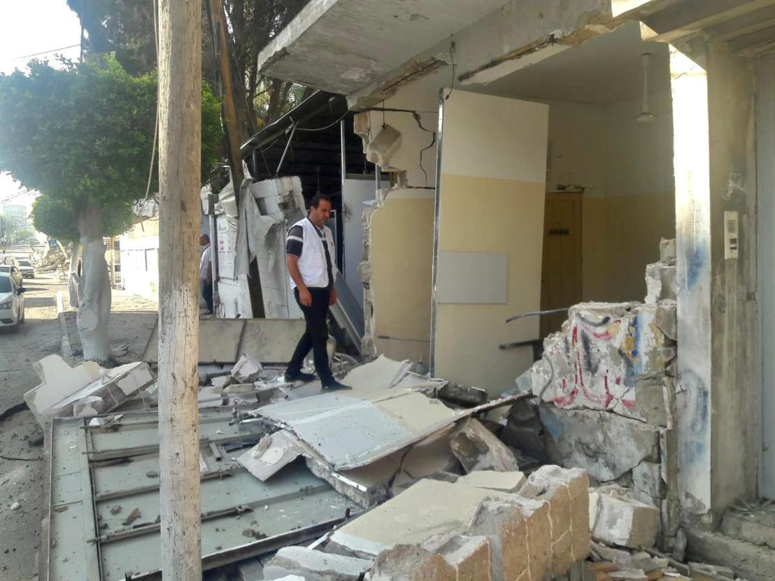 Gaza: MSF clinic damaged by Israeli aerial bombardment