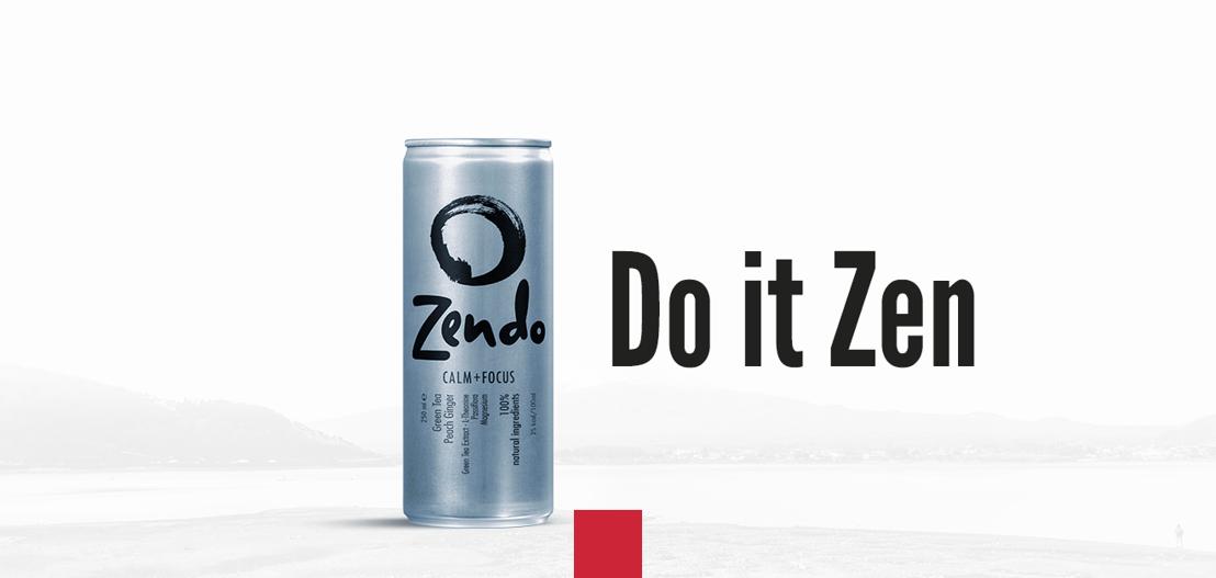 """INVITATION À LA PRESSE : Lancement de ZENDO Calm + Focus, La première boisson """"anti-stress"""" en Europe"""