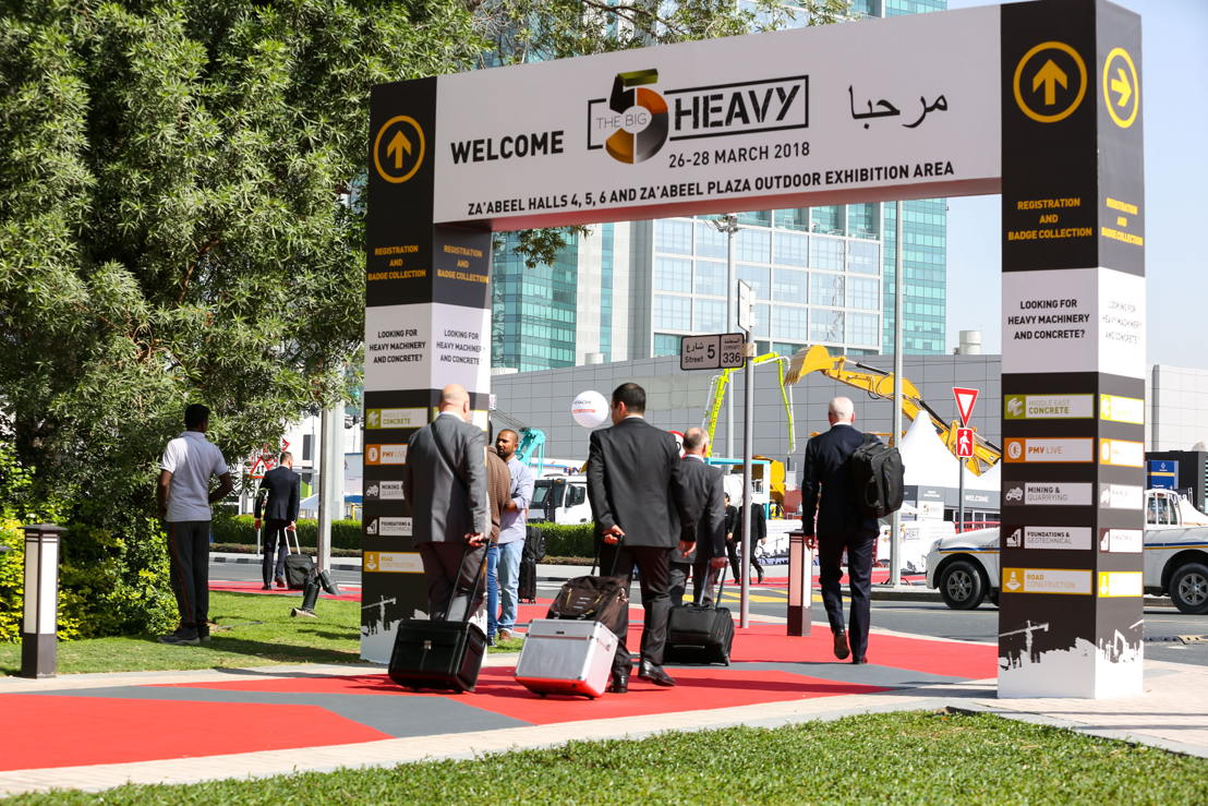 Visitors head to The Big 5 Heavy Exhibition on March 26