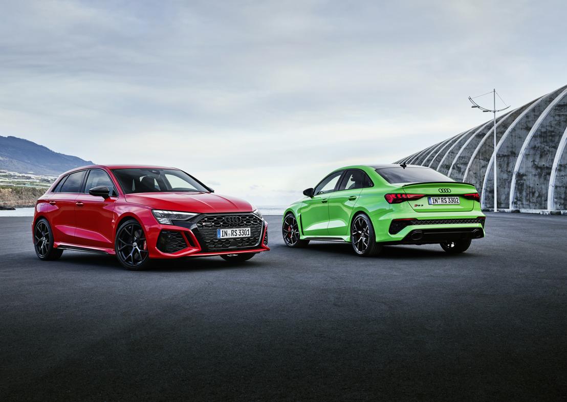 De nieuwe Audi RS 3: ongeëvenaarde sportiviteit voor dagelijks gebruik