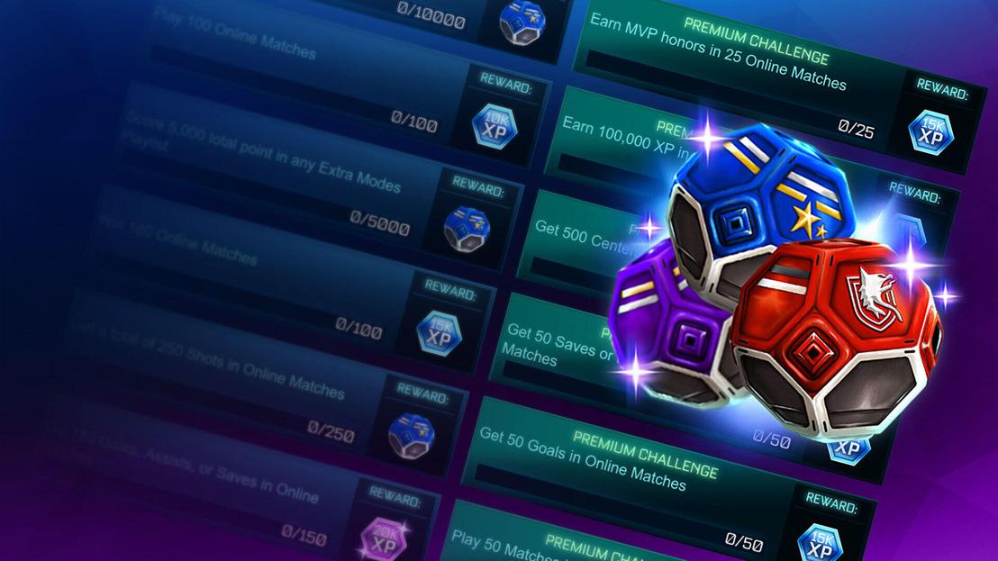Rocket League renueva sus Torneos y Desafíos en su versión free to play