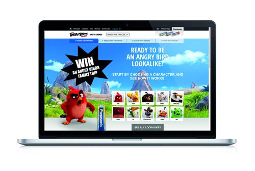 Panasonic clôture un concours Angry Birds très réussi