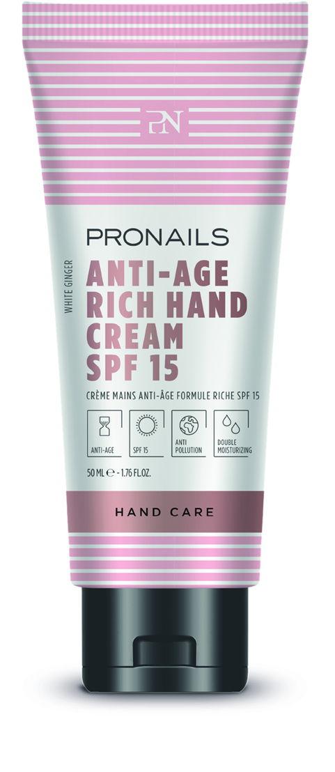 Anti-Age Hand Cream Rich SPF 15 50 ml