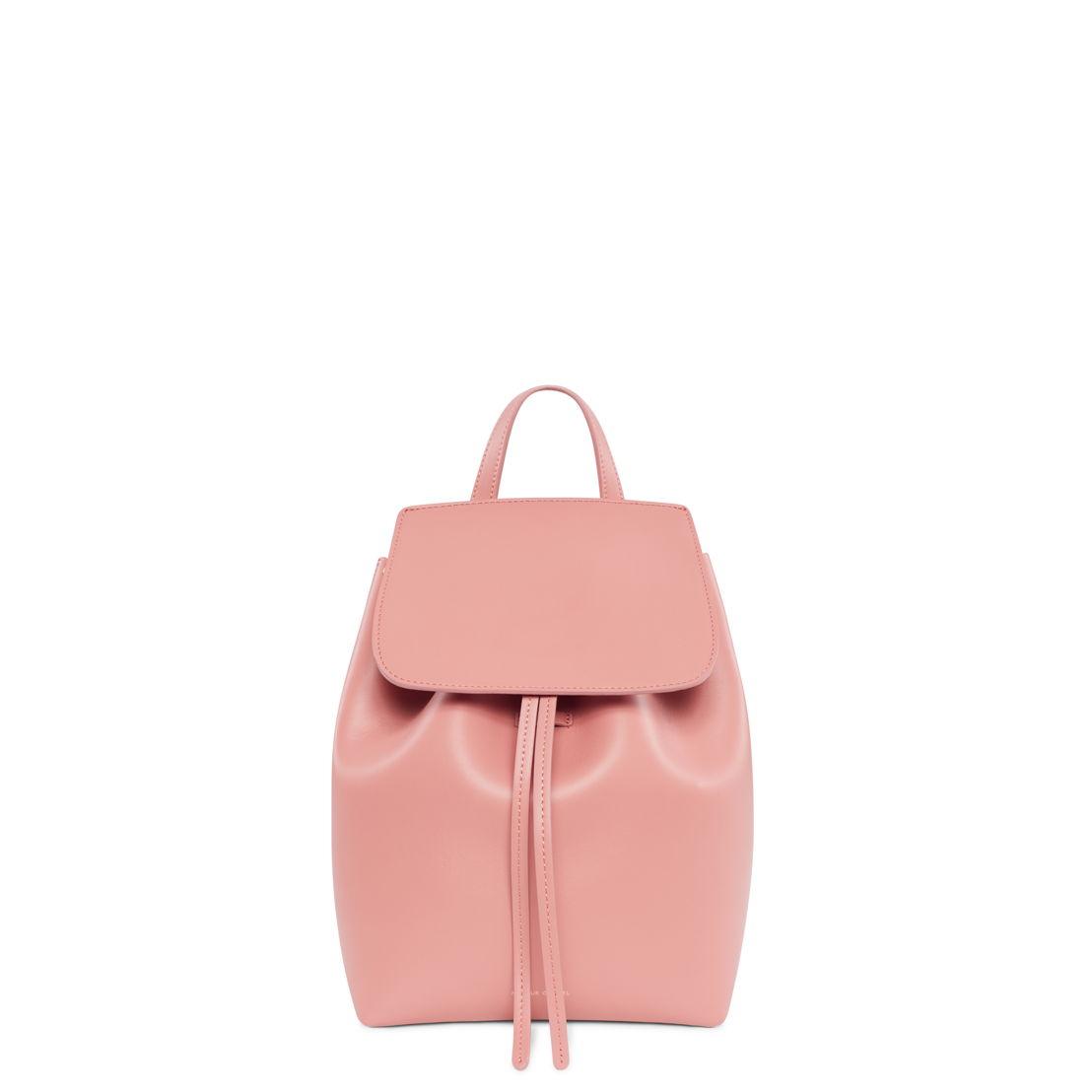 Mansur Gavriel Mini Backpack Calf Blush at Graanmarkt 13