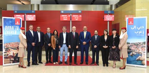 Emirates touches down in Croatia