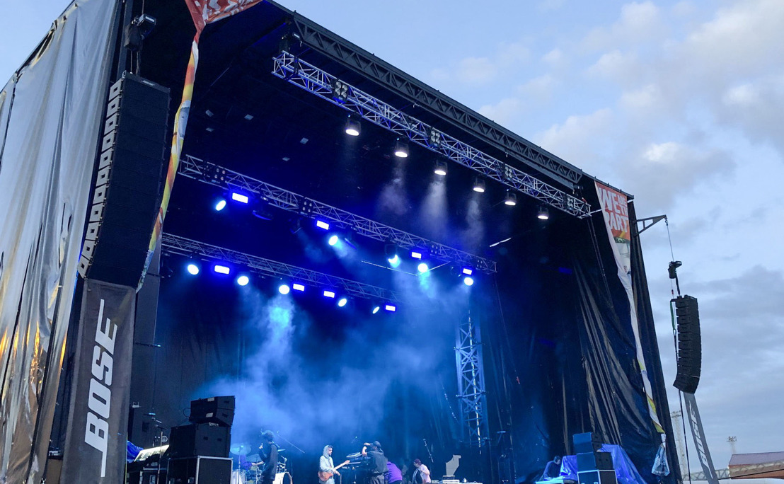 En España, ShowMatch, de Bose Profesional, sonoriza el Urban Stage dentro del festival Sonorama Ribera