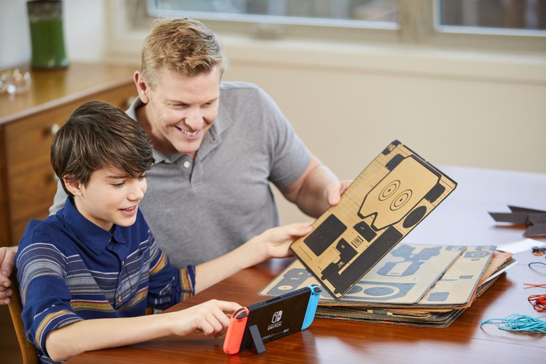 Nintendo Labo : Le cadeau parfait pour la fête des Pères
