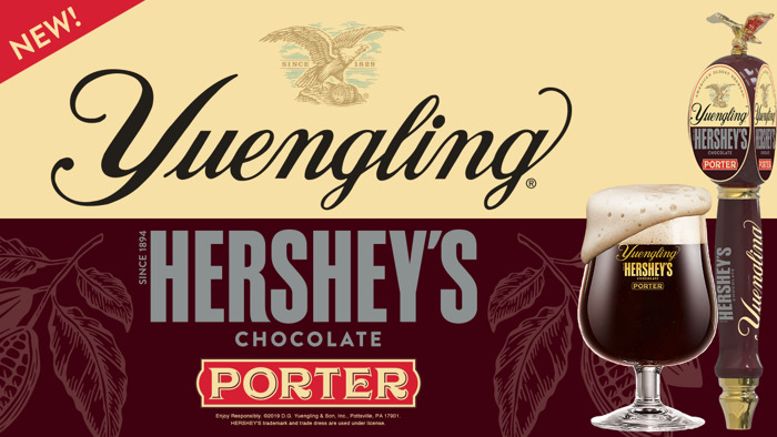 Preview: First-Ever Yuengling HERSHEY'S Chocolate Porter to Launch