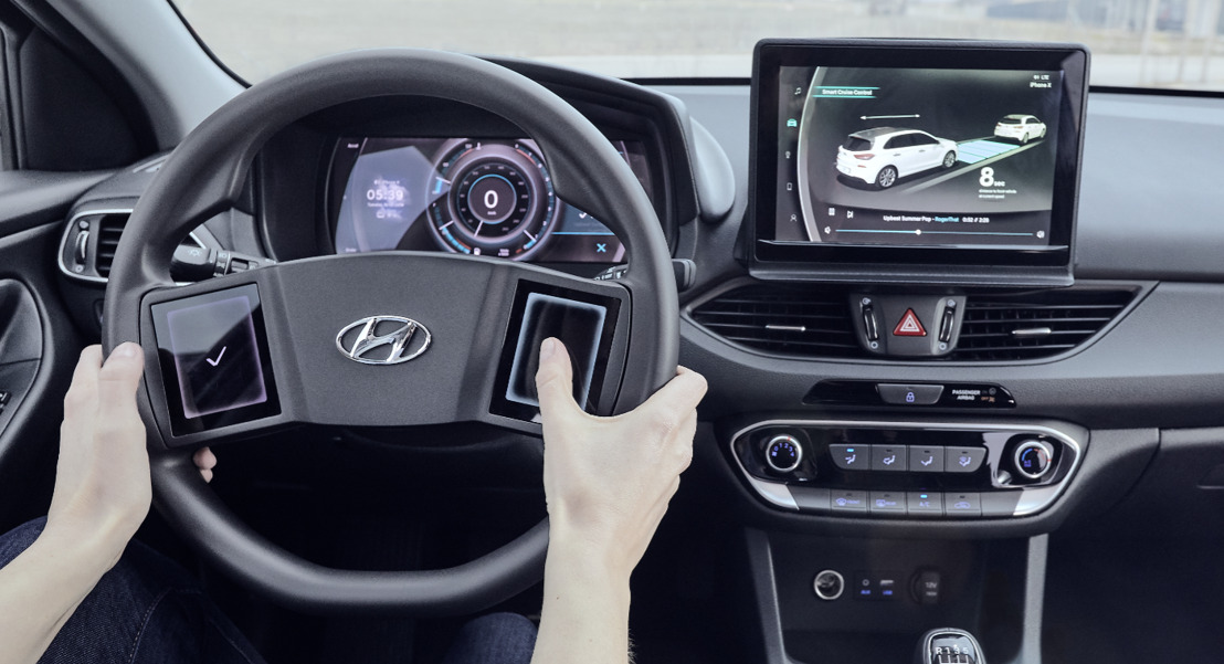 Hyundai enthüllt Studie des virtuellen Cockpits