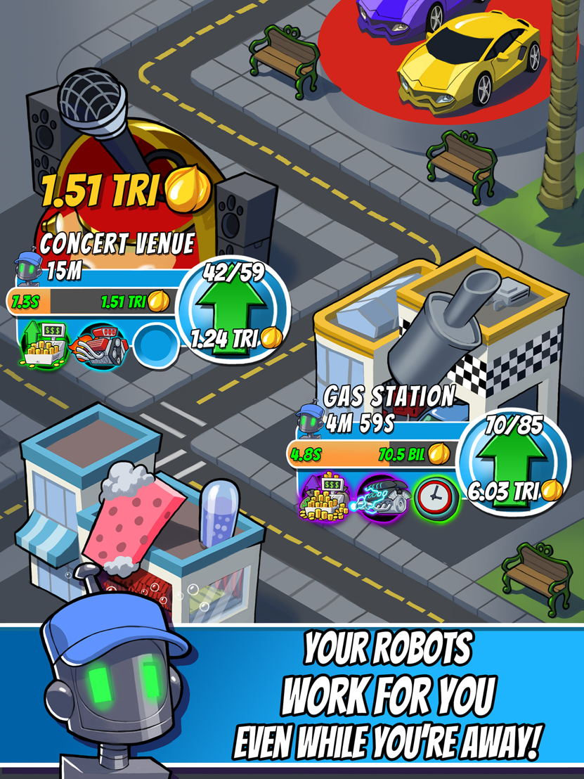 Tap Empire store screen 4