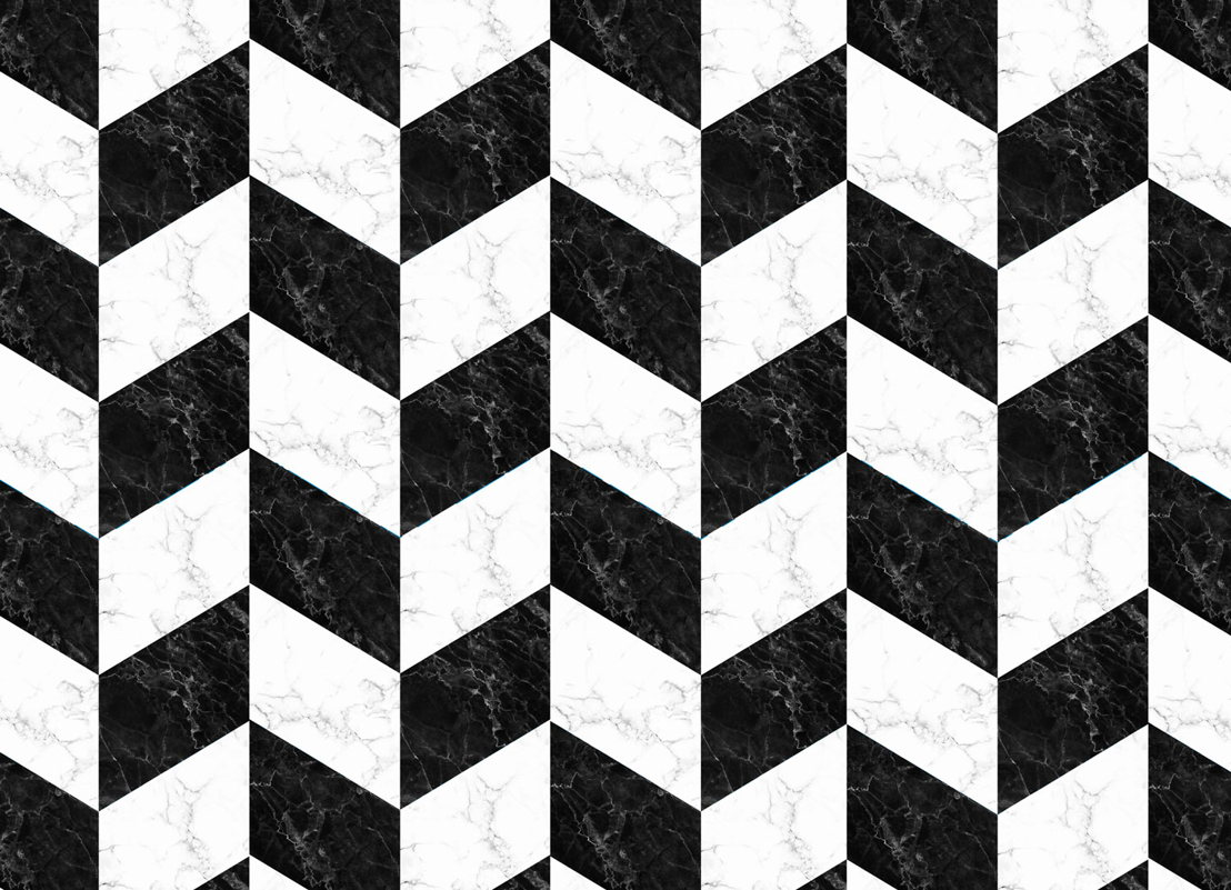 Savoy |   <br/>Black and White Marble Effect Flooring