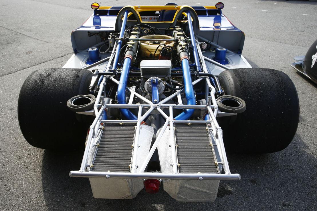 Porsche Rennsport Reunion VI, Laguna Seca: Porsche 917/30 (motor V12 turbo de 5.400 c.c.)