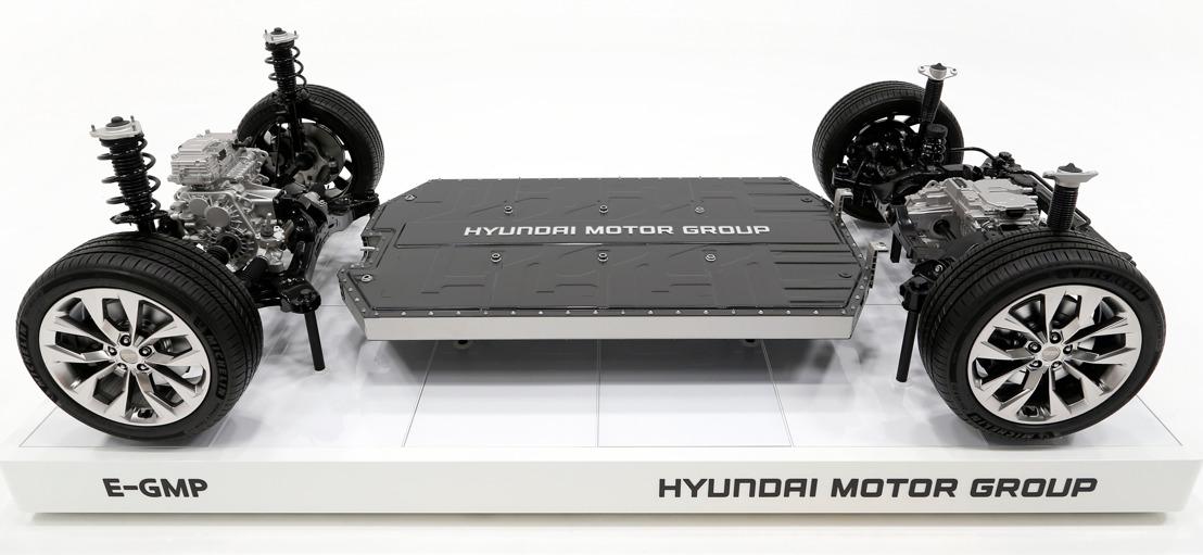 E-GMP: Hyundai Motor Group bereitet die Ära des Elektroantriebs mit einer exklusiven neuen Plattform für Batterie-Elektrofahrzeuge vor