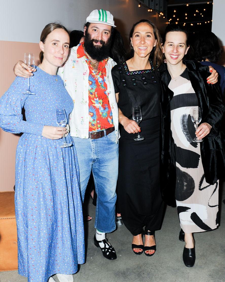 Helen Wines, Alex Becerra, Gabriela Cámara y Jessica Koslow