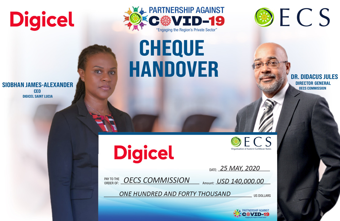 Digicel responds positively to OECS Clarion Call in COVID-19 Fight