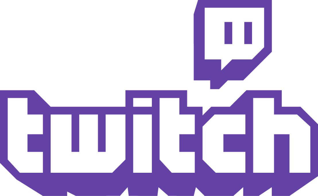 Twitch Logo Combo Purple