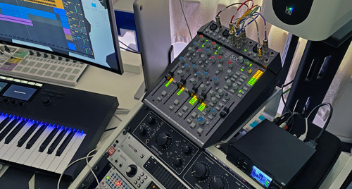 Shadow Child Turns To SSL SiX for Analog Summing