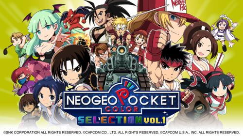 La collection NeoGeo Pocket Color Selection Vol.1 est désormais disponible sur le Nintendo eShop