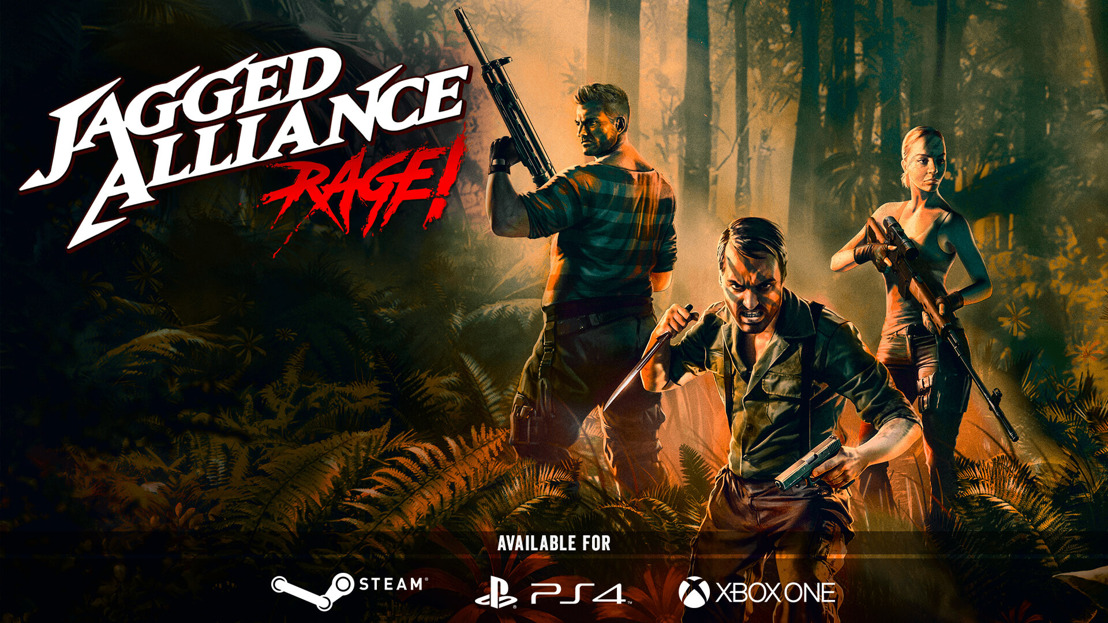 Jagged Alliance: Rage! out now on PC and consoles