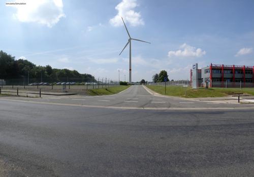 Luminus bouwt de eerste windturbine van Hauts-Sarts bij NRB