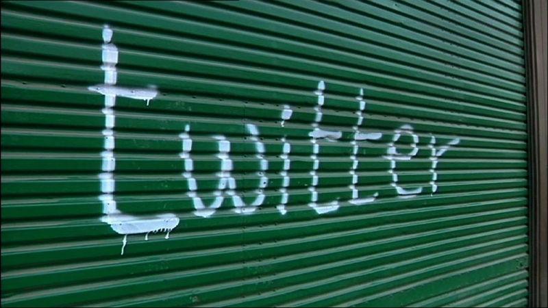 Twitter graffitti