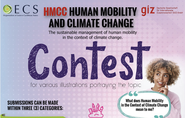 Preview: OECS and GIZ launch Symposium and Contest on Human Mobility in the Context of Climate Change in Saint Lucia