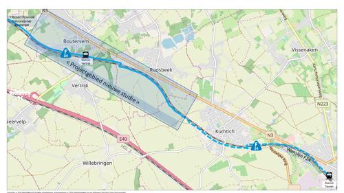 Provincie start studie om fietssnelweg Leuven-Tienen tussen Vertrijk en Kumtich aan te leggen