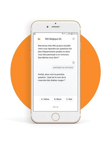 ING Belgique, la première banque belge à concevoir une application pour l'Assistant Google