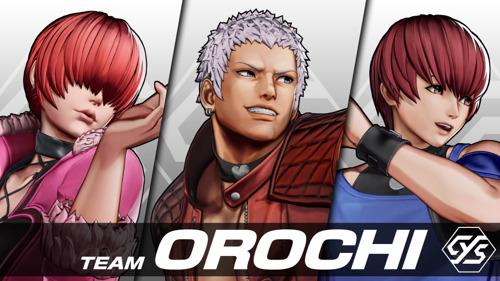 The King of Fighters XV : la Team Orochi revient sur scène après 19 ans d'absence