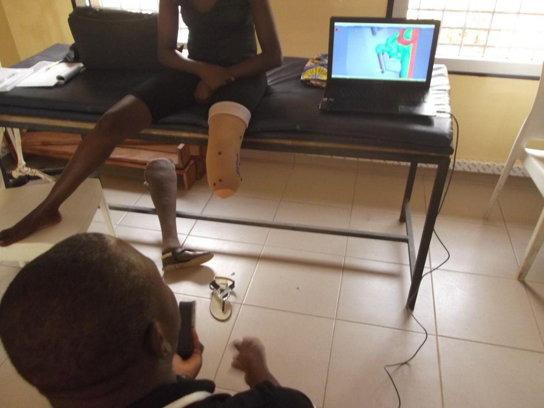 L'Ecole Nationale d'Auxiliaires Médicaux (ENAM) in Lomé © Jérôme Canicave