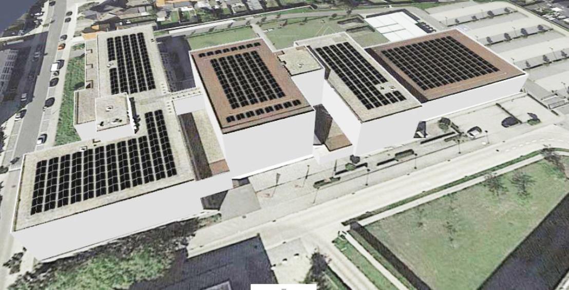 Meer dan 900 zonnepanelen op Campus Turnhout
