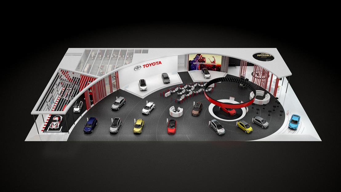Toyota innove au Mondial de l'Auto de Paris