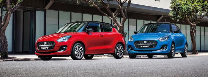 Preview: Suzuki introduceert de gefacelifte Swift