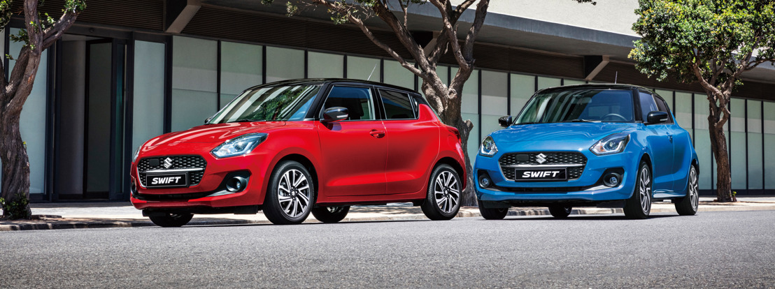 Suzuki introduceert de gefacelifte Swift