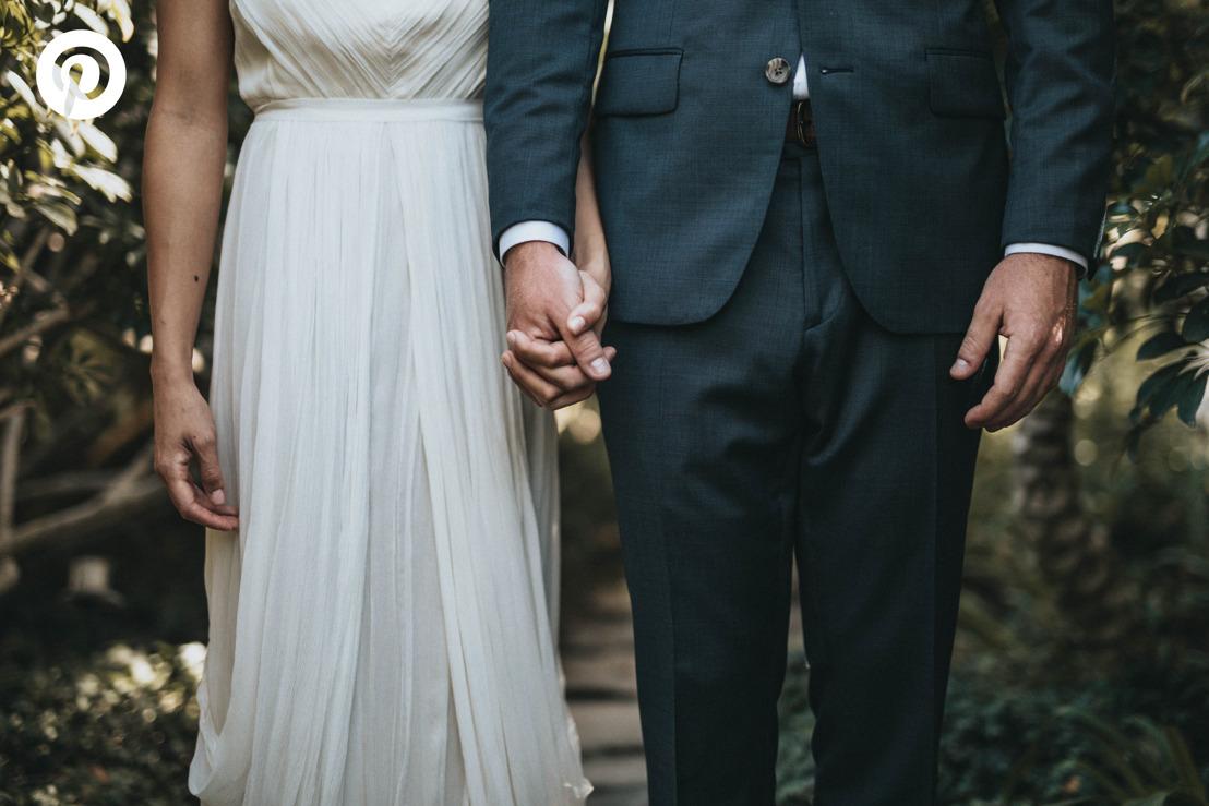 Tendencias de boda 2019 en Pinterest: minimalista, natural, y personal