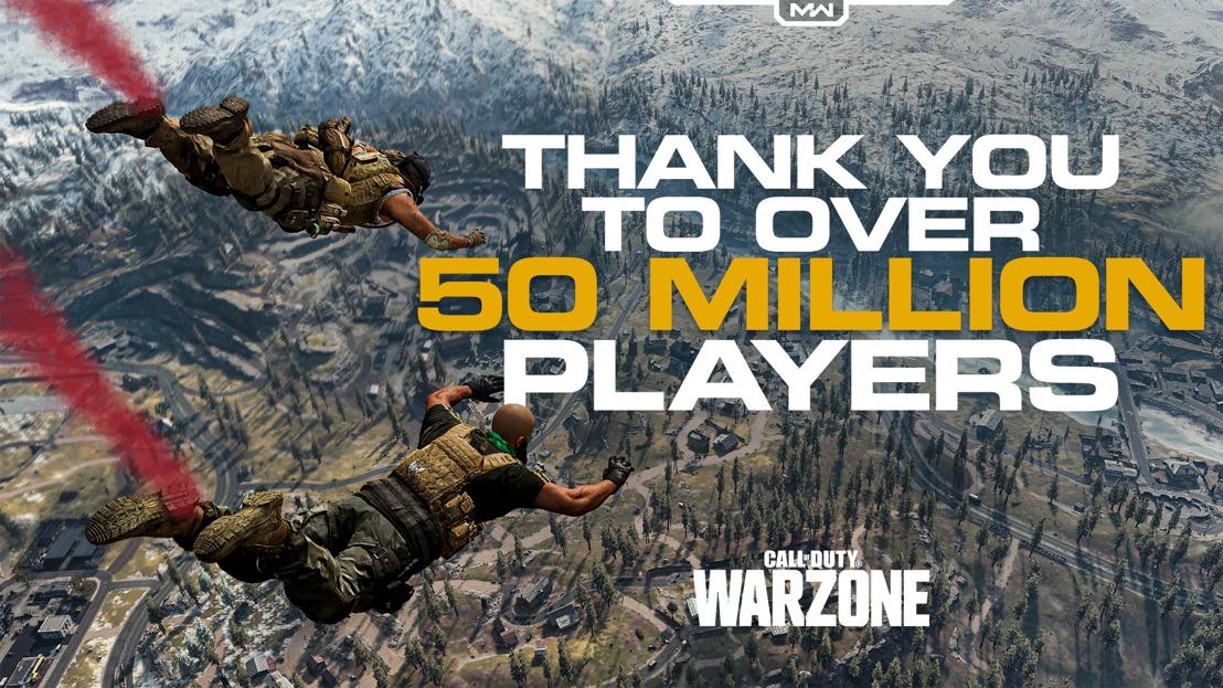 Call of Duty: Warzone ya cuenta con más de 50 millones de jugadores