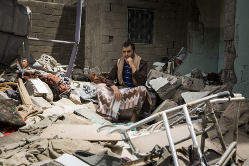 YEMEN: MSF faces an influx of war wounded as fighting intensifies