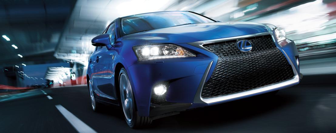Nieuwe Lexus CT 200h: meer confort en finesse