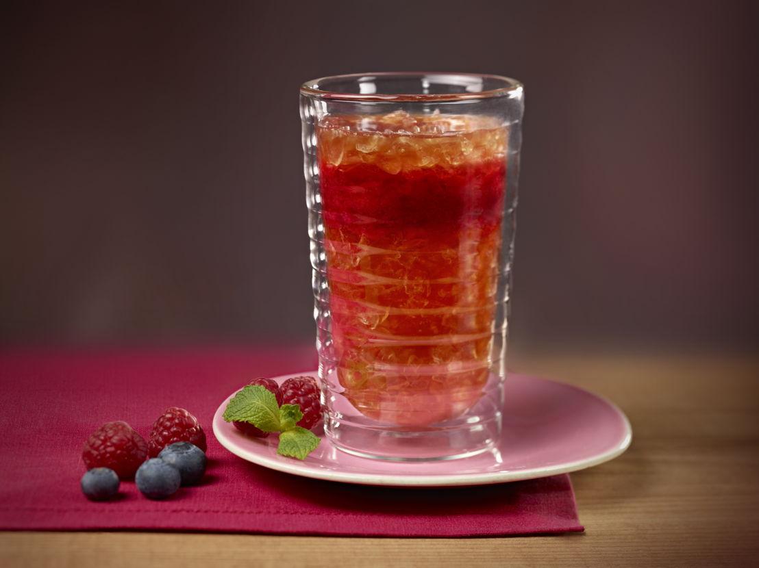 Ijskoffie met Rode Vruchten ©Nespresso