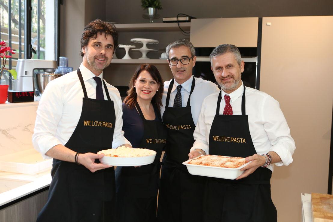 Francesco Divella, Sonia Peronaci, Riccardo Felicetti, PIero Rigo