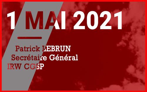1er MAI 2021 - Discours