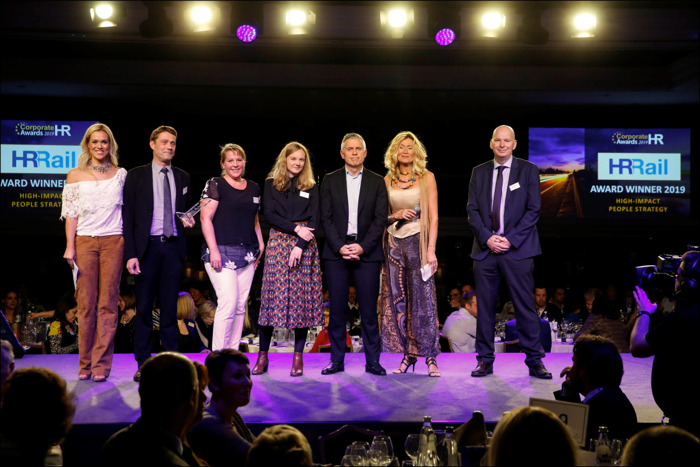 HR Rail remporte un Corporate HR Award!