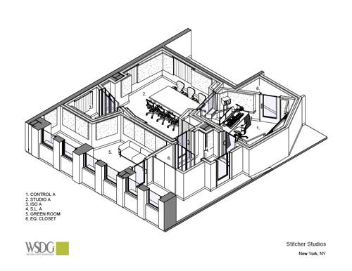 STITCHER INTRODUCES WSDG-DESIGNED NYC STUDIOS