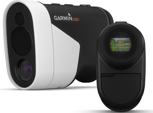 """Preview: Garmin lanceert twee nieuwe """"must haves"""" voor golfers: de Approach® Z80 laserafstandsmeter en het Approach® S10 GPS-horloge"""