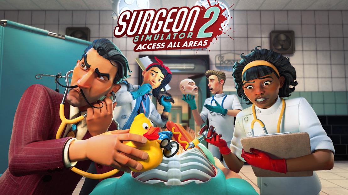 Surgeon Simulator 2: Access All Areas erscheint diesen September auf Steam und Xbox