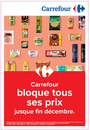 Carrefour gèle le prix de plus de 20.000 produits
