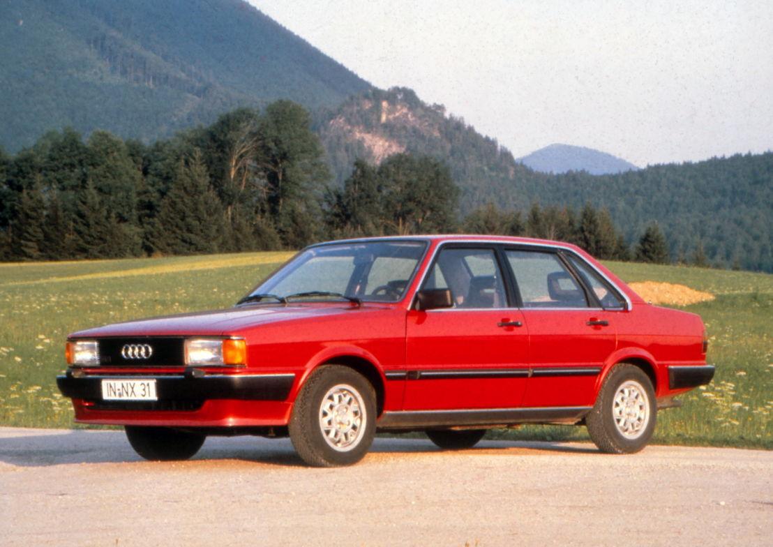 Audi 80 CD (B2) 1982