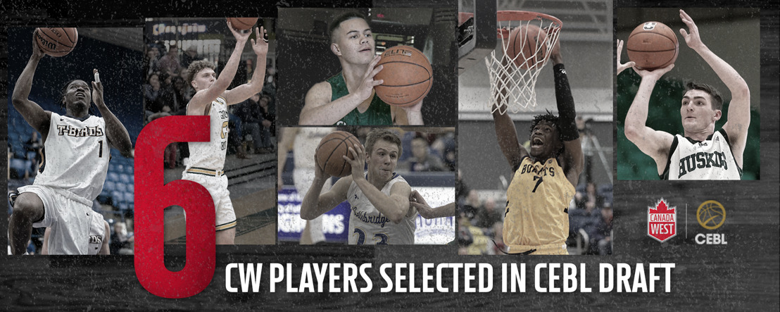 Canada West talent selected in CEBL U SPORTS Draft